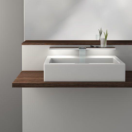 Inspirational hansa waterfall faucet pearl creative waschtisch amatur