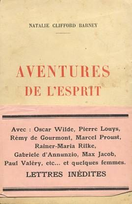 Cover of Aventures de L'Esprit by Natalie Barney