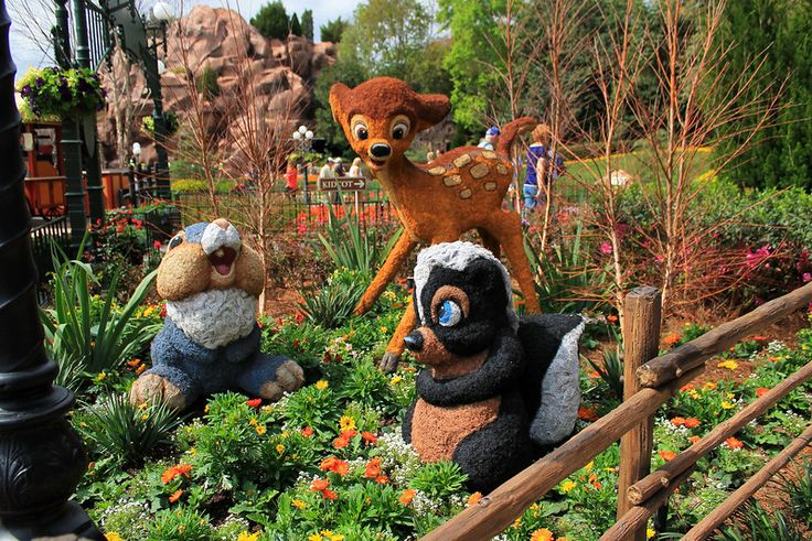 Epcot International Flower and Garden Festival 2014