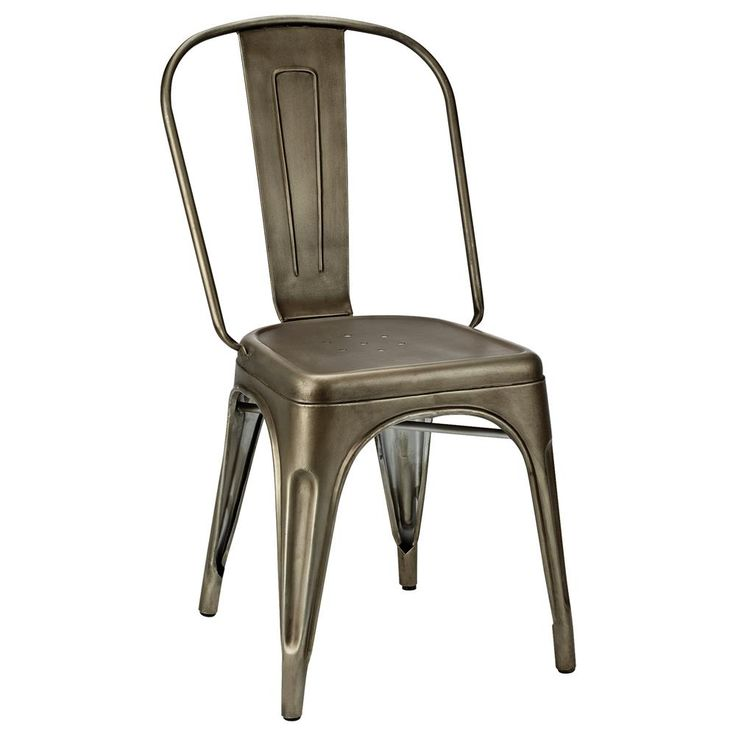 Atelier - Industrial metal dining chair/Dining Chairs/Seating/Shop By Product/ATELIER Bouclair|Bouclair.com