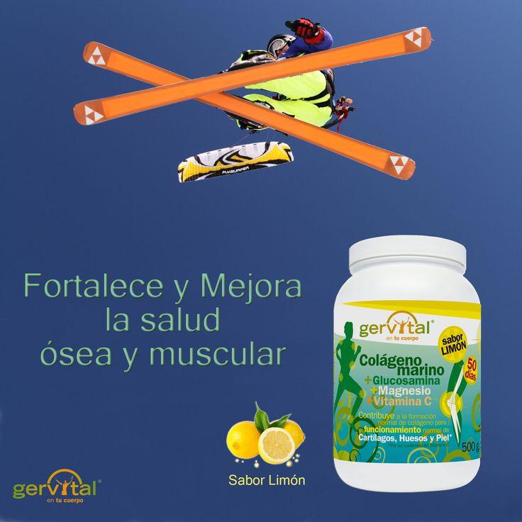 ¡Empieza el día con energía! 💪🏻 Descubre el ¡NUEVO! Gervital Colágeno Marino con sabor limón 🍋🍋
