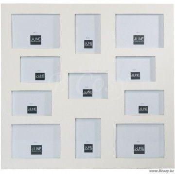 J-Line Pele-mele 11 fotos 10x15 en 13x18 wit 60