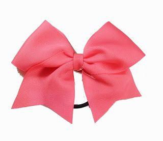MINI cheer bow tutorial/DIY