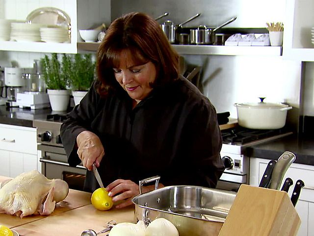 Engagement Roast Chicken Recipe : Ina Garten : Food Network