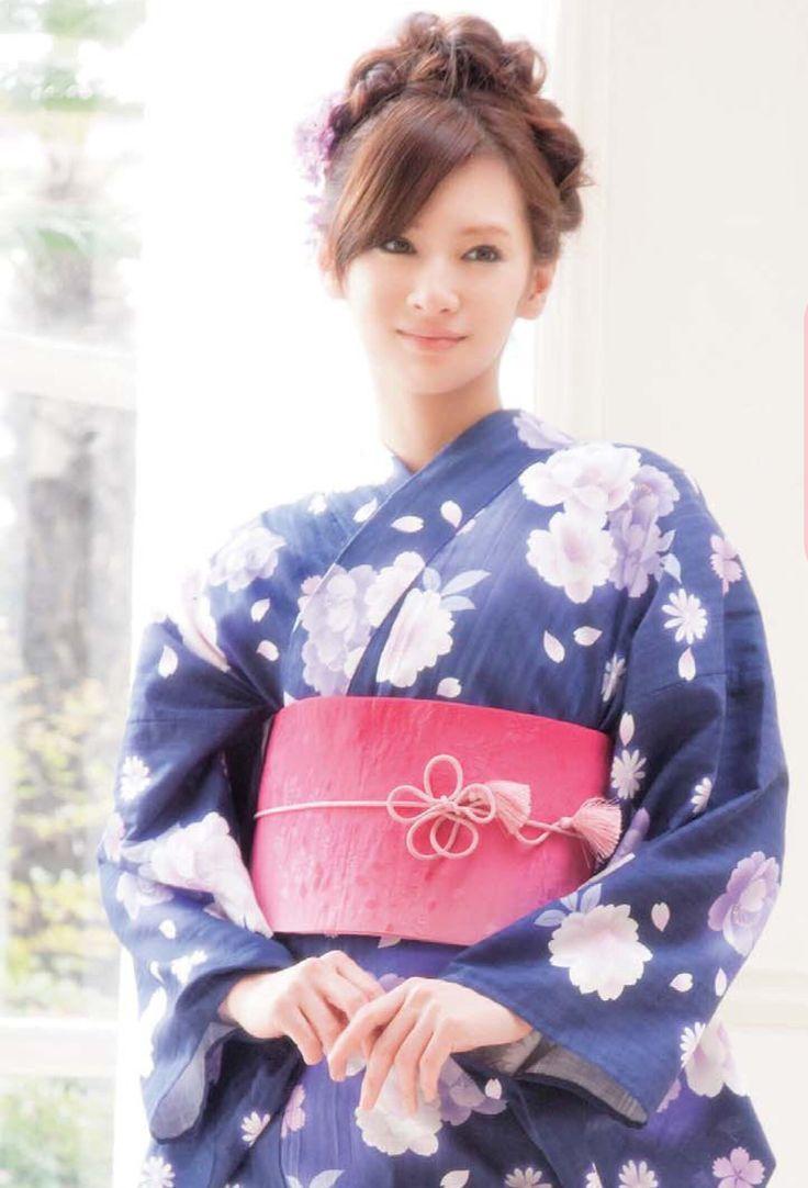 Keiko Kitagawa / 北川景子 in kimono