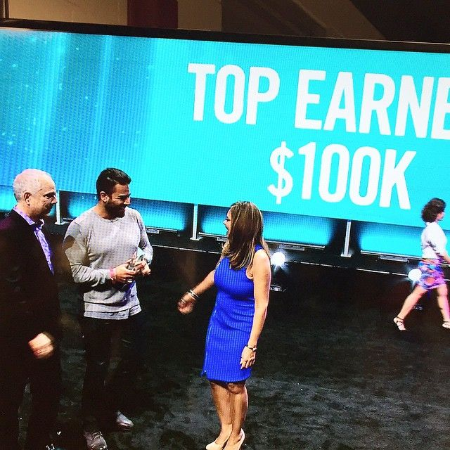 """Mike from Shahs of Sunset & Jessica are also Brand Partners for Nerium International & were recognized for their sales. This was his caption: """"Pretty awesome being recognized in San Jose at our convention, in front of over 15,000 people for earning anywhere between $100,000.00-$199,999.00 in the last 12 months with Nerium International on a part time basis! I guess the business really does work."""" Tatyana888.Nerium.com"""