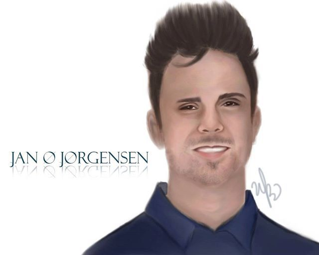 For everyone who asked me to make a fan art for Jan, this is special for you!! 😆 . .  @janojor #winnonart #winnonartbrush #digipaint #art #illustration #drawing #draw #picture #artist #sketch #pencil #artsy #instaart #beautiful #instagood #masterpiece #photooftheday #instaartist #graphic #artoftheday #janojorgensen #janojor #danishdynamite #instalike