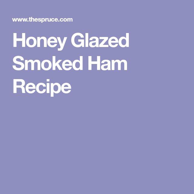 how to cook a honey ham