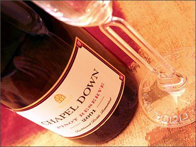 Wine Tasting Note: Chapel Down Pinot Reserve, 2001, England. - Spittoon.biz