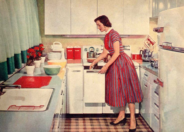1950 Kitchens 411 best interiores 40s, 50s y 60s images on pinterest | vintage