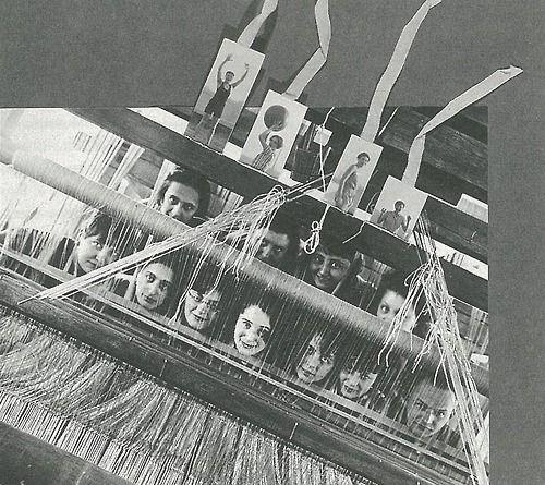 For the album  quot 9 years Bauhaus quot   1928  Top row from left  Lisbeth Oesterreicher  Gertrud   Preiswerk  Lena Bergner  Grete Reichardt   Bottom row from left  Lotte Beese  Anni Albers    Ljuba Monastirsky  Rosa Berger    Gunta Stoelzl  Otti Berger  Kurt Wanke