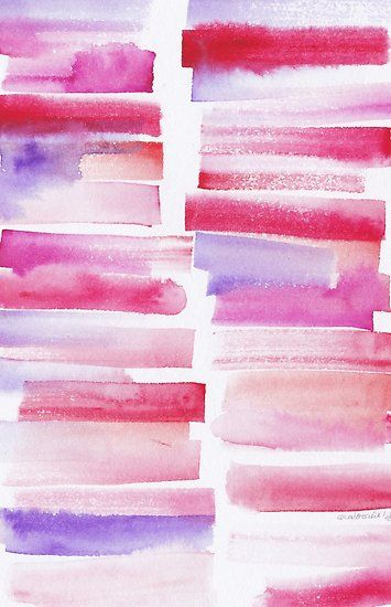 20 181101 Watercolour Palette Abstract Art Lines