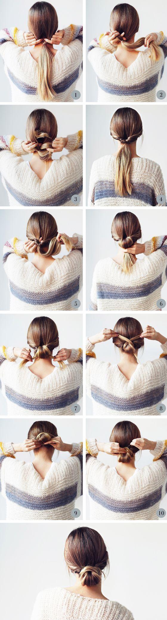 Schöne und einfache Frisur. Sunny Hair 100% remy Echthaarverlängerungen. bekomme ich… – Frisur Hochzeit