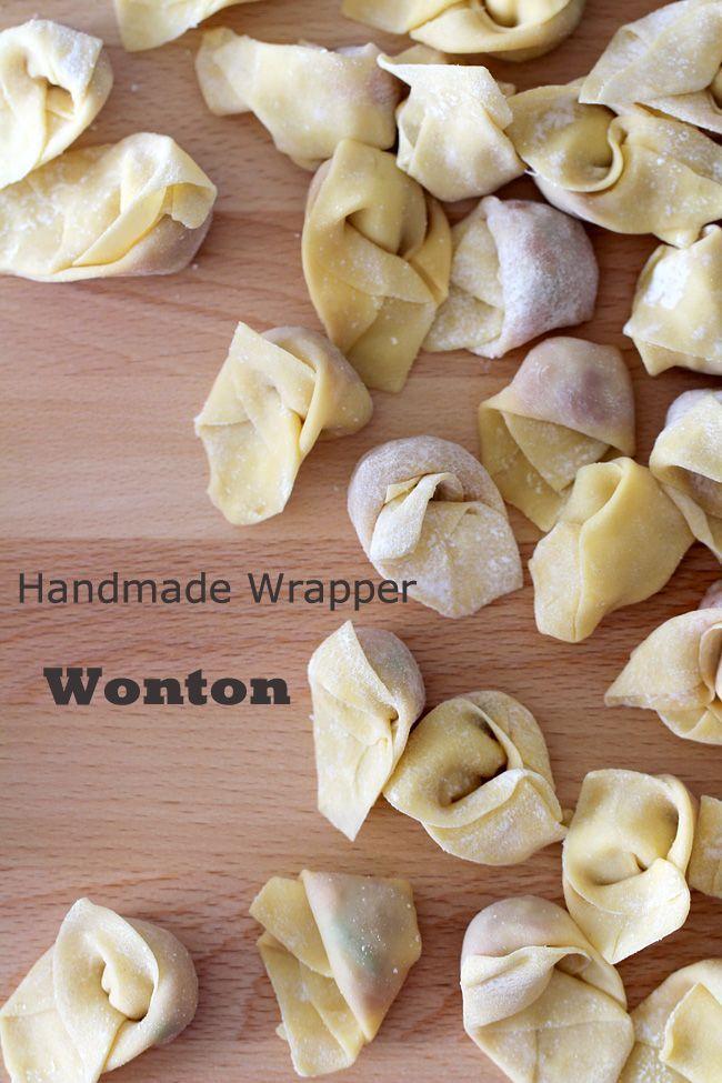 homemade wonton wrapper wonton @elaineseafish