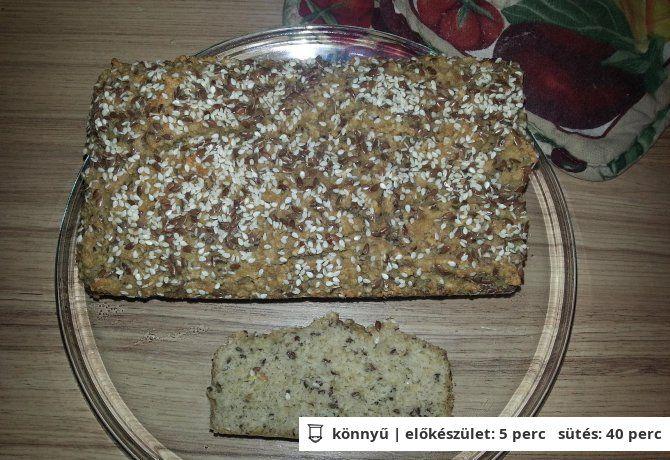 Paleo sokmagos kenyér