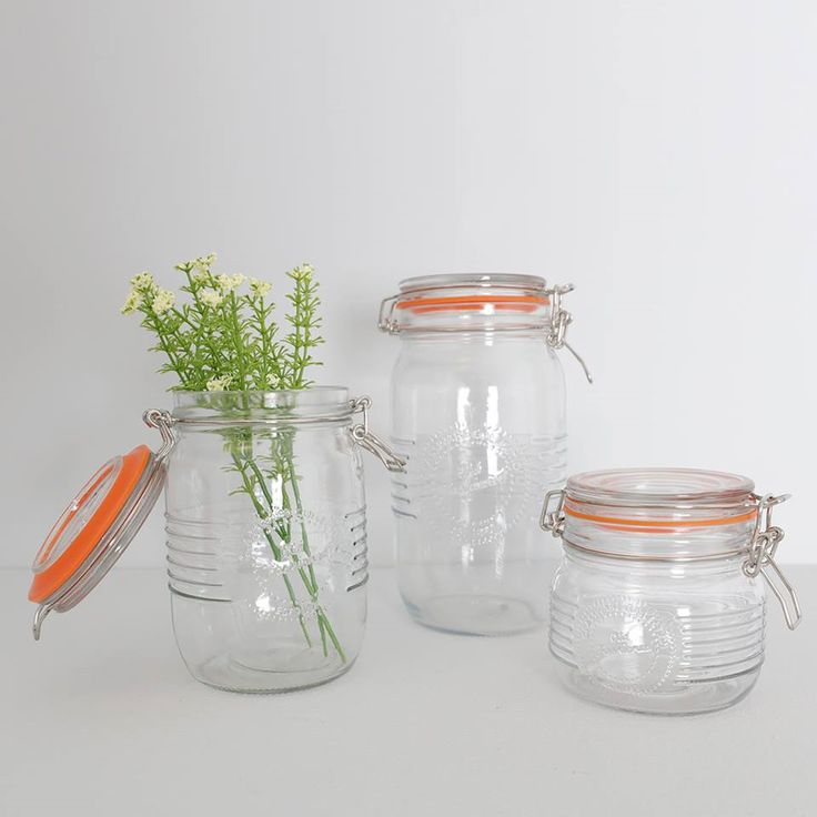 """Lovely selection of Storage Jars to complete any home"" available from @carraigdonn @whitewatersc"
