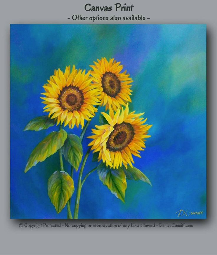 Sunflower decor, Canvas wall art, Blue and yellow laundry room, Blue home decor, Square print, Bathroom wall art, Country, Shabby chic by ArtFromDenise on Etsy https://www.etsy.com/listing/203558318/sunflower-decor-canvas-wall-art-blue-and