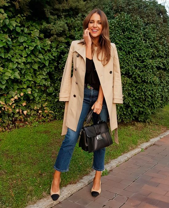 TRENCH IS CHIC