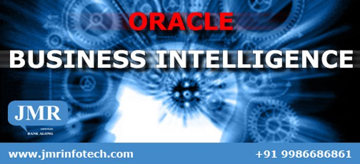 Oracle Business Intelligence is a complete, open, and architecturally unified business intelligence system for the enterprise that delivers abilities for reporting, ad hoc query and analysis, online analytical processing (OLAP), dashboards, and scorecards.  JMRI provides solutions based on Oracle Business Intelligence to banks.