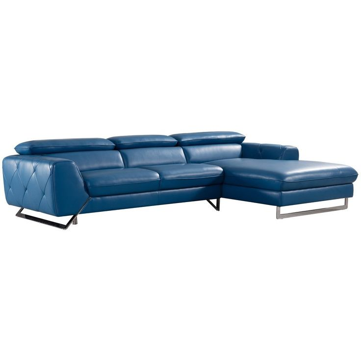 25  best ideas about blue leather sofa on pinterest