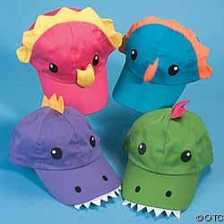 Dinosaurs Rock Party Supply Caps