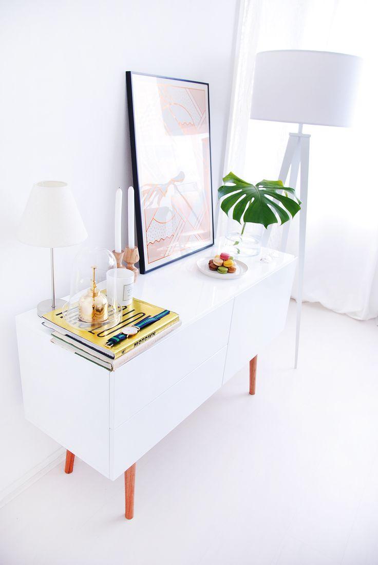 Meer dan 1000 idee u00ebn over Dressoir Styling op Pinterest   Ladekasten, Parijse slaapkamer en