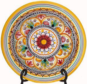 Luncheon Plate. Sevilla, another beautiful design for summer-inspired tapas! #OKLsummer