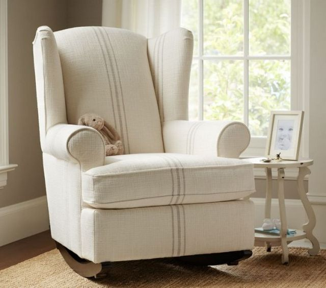 baby nursery rocking chair - Gliding Rocking Chair