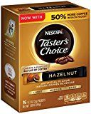 Early Bird Special: Nescafe Taster's Choice Instant Coffee Beverage Hazelnut16 - 0.1 oz packets(Pack of 8)  Nescafe Tasters Choice Beverage Hazelnut  Expires Mar 21 2018