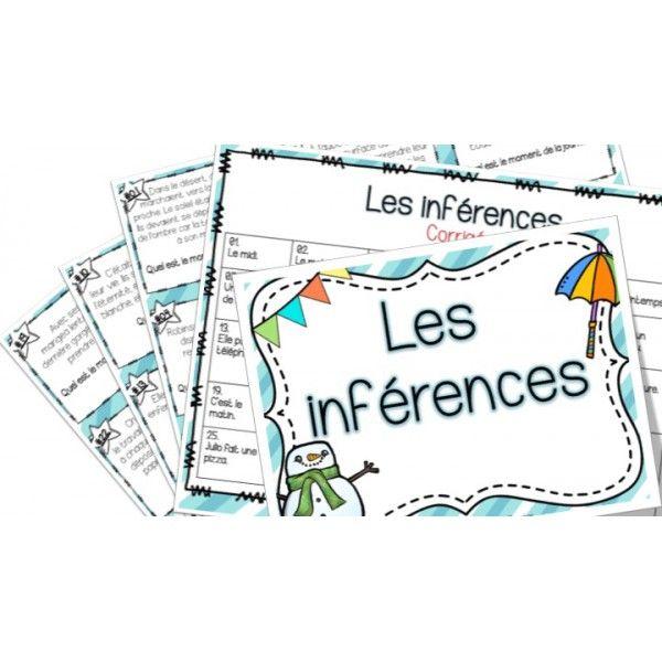 Les inférences - Cartes à tâches !