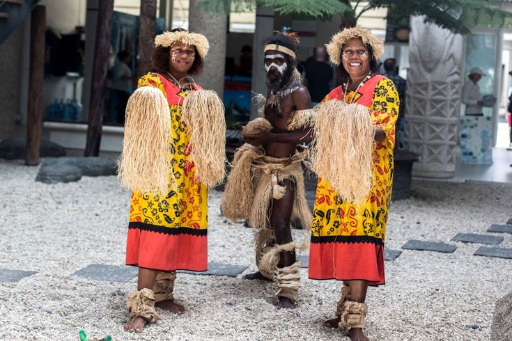 Islanders on Noumea, New Caledonia