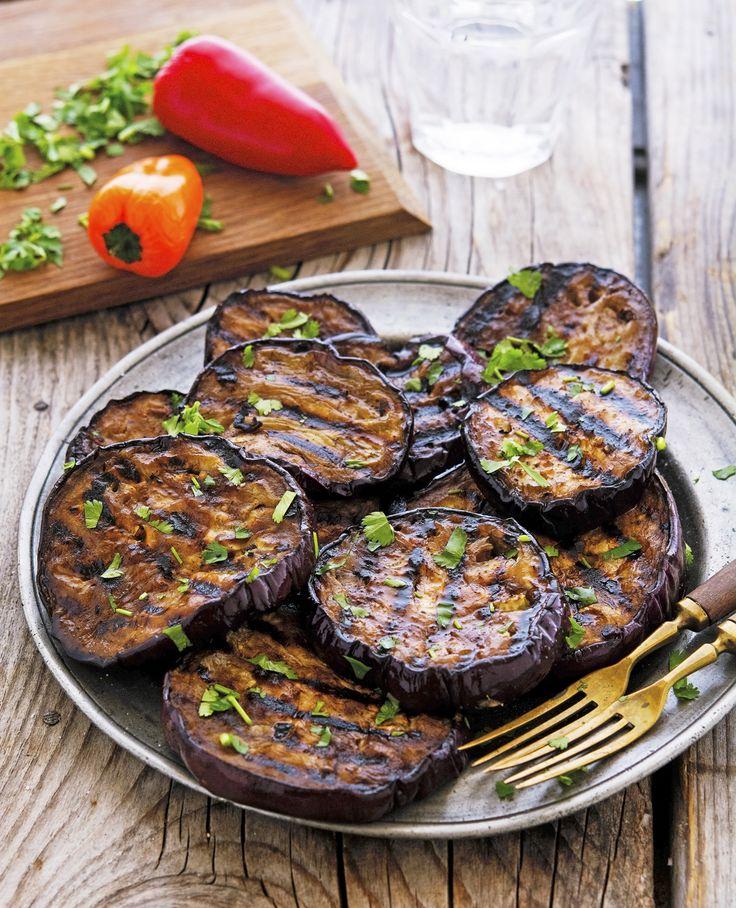 #summervegetables #eggplant #balsamic Balsamic Marinated Grilled Eggplant