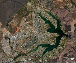 Vista aerea de Brasilia