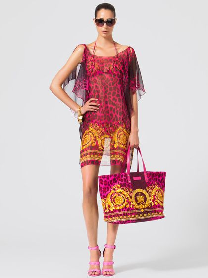 253 best images about beach coverups on pinterest cover for Donatella versace beach