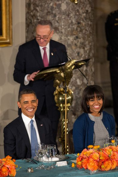 Michelle Obama Photo - Barack Obama Attends The Inaugural Luncheon