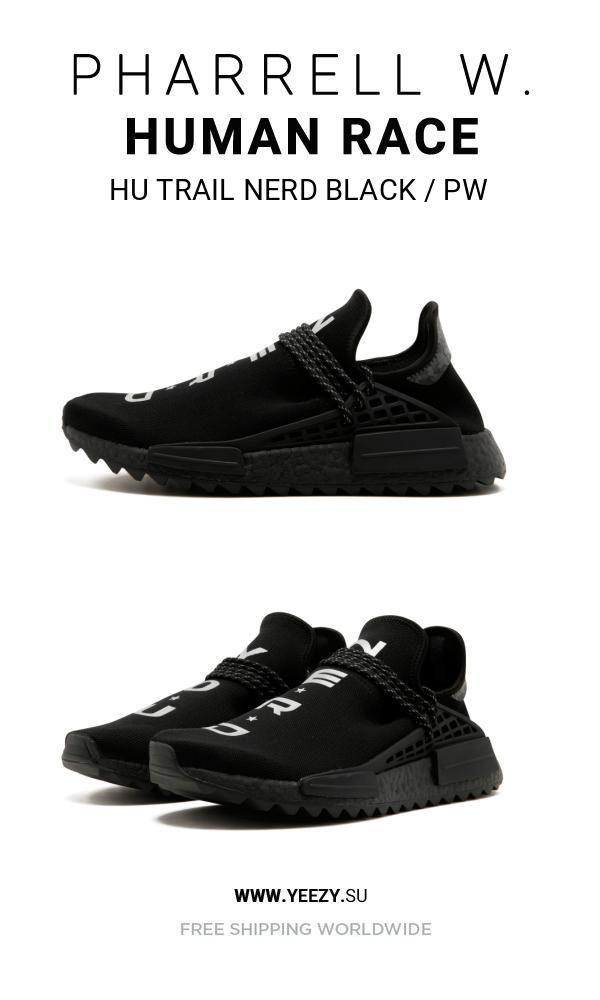 new arrival ef8c1 5e36c Price of New Human Race Adidas HU Trail NERD Black / PW ...