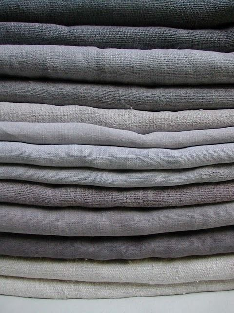 suzieandersonhome:  pearl-nautilus:  French 19th century dyed linen and hemp  French linen