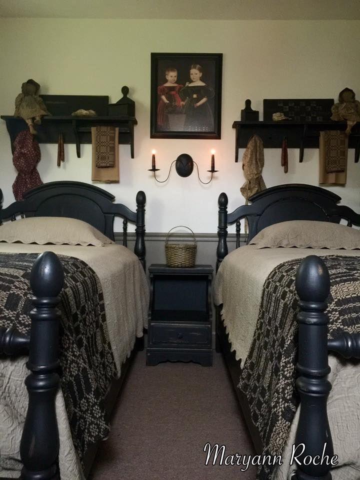 Maryann S Home Primitive Homescountry Primitiveprimitive Beddingprime Decorprimitive Decorspare Bedroom