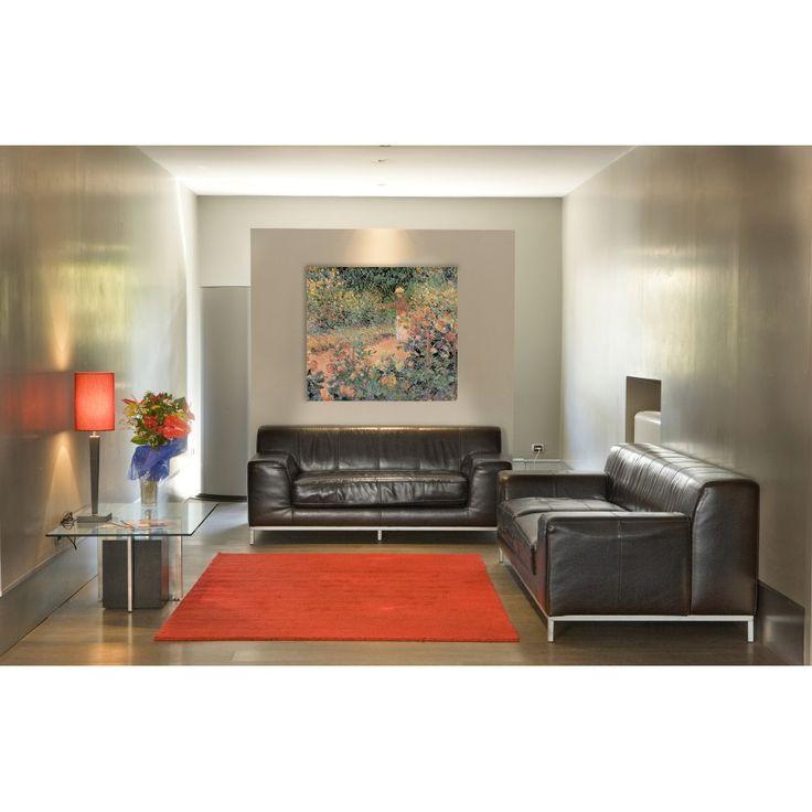 MONET - GARDEN IN GIVERNY (140x124 cm / 100x89 cm) #artprints #interior #design #art #prints #Monet  Scopri Descrizione e Prezzo http://www.artopweb.com/autori/claude-monet/EC16926