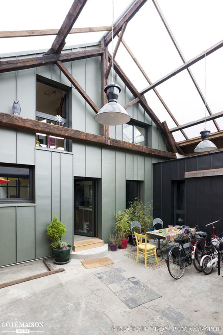 les 25 meilleures id es de la cat gorie joint debout sur pinterest toit joint debout roit. Black Bedroom Furniture Sets. Home Design Ideas