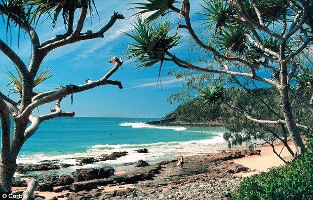 Noosa, Australia! I'm gonna go there for two months, to surf, to sell my bikinis, to travel and meet people!