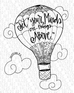 Hand Drawn Scripture Coloring Sheets Next Tattoo