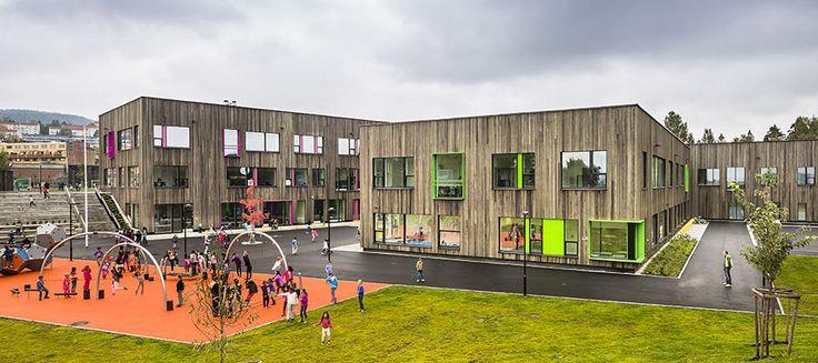 Veitvet skole (Foto: Hundven-Clements Photography)