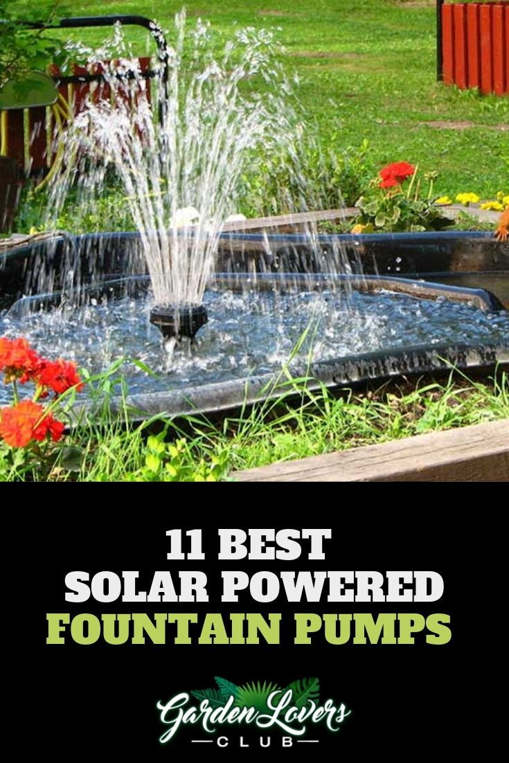 11 Best Solar Powered Fountain Pumps Water Fountains Outdoor Solar Powered Fountain Pump Solar Water Fountain