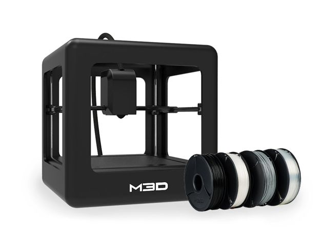 M3D Printer & 4 Reels of Filament Bundle
