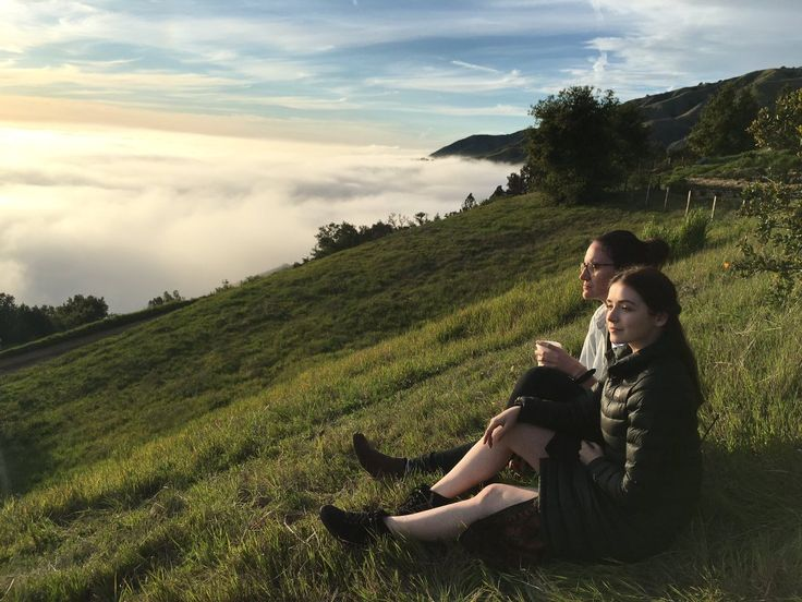 Sarah Bolger over the clouds