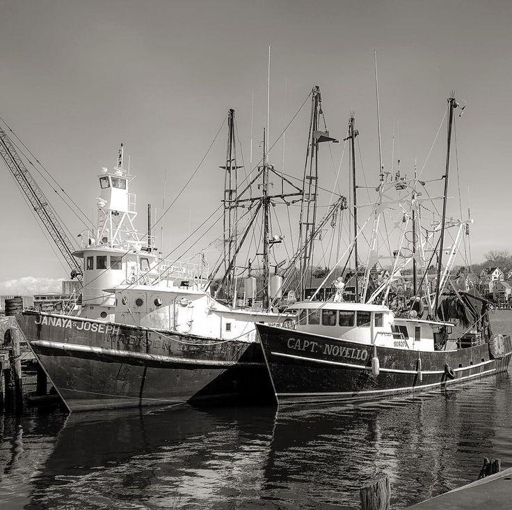 Gloucester harbor massachusetts commercial fishing for Mass commercial fishing