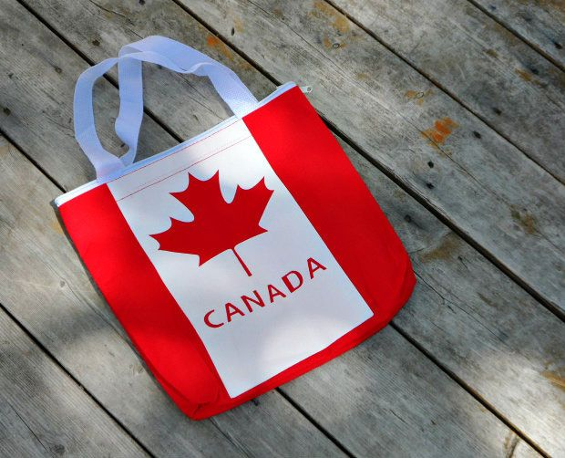 Celebrate Canada and get outdoors with this easy scavenger hunt.