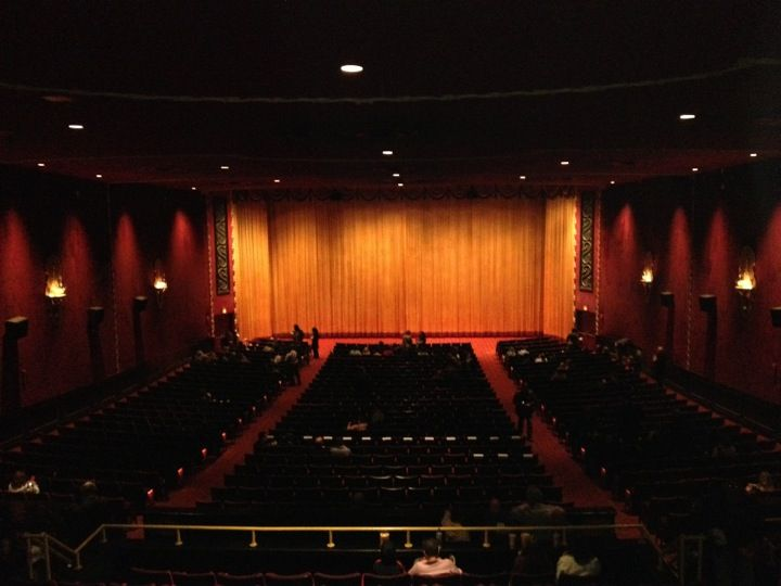 Ziegfeld Theater - Bow Tie Cinemas- what a beautiful theater with so much history