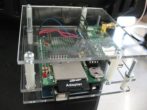 Picture of Build a datalogger for your wireless sensor network